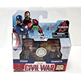 Marvel Minimates - Captain America Civil War 2pk - Vision & Hawkeye