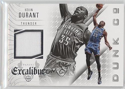 (Kevin Durant (Basketball Card) 2014-15 Panini Excalibur - Dunk Company Jerseys #20)