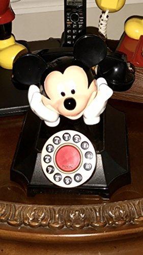 MICKEY MOUSE Vintage-Style Desk (Mickey Mouse Desk Phone)
