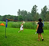 Height Adujstable Badminton Net , Tennis Volleyball Net with Stand / Frame