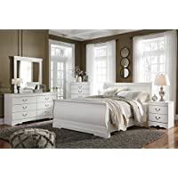 Ashley Anarasia Queen Sleigh Footboard in White
