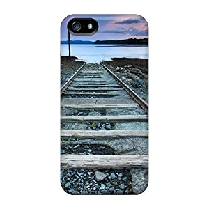 Iphone High Quality Tpu Case/ Tracks To Nowhere Ixh874YeQo Case Cover For Iphone 5/5s