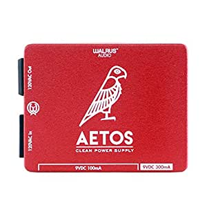 Walrus Audio Aetos 8 Output Power Supply, Limited Edition Red/White