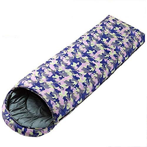 LKKSP Umschlag Tragbare Schlafsack SingleWater Resistant Compression Schlafsack für Mann Frau Outdoor Camping, Wandern