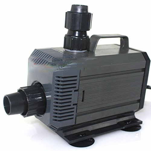 1.1a 792 Gph Water Pump Submersible Inline Pump 4 Reservoir Tank Hydroponic 85w