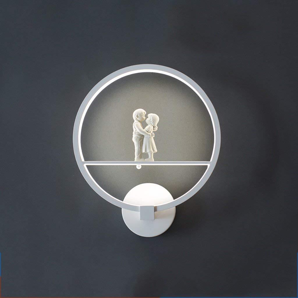 Wandleuchte LED-Wandleuchten Wohnzimmer Schlafzimmer Deckenleuchten LED-moderne Beleuchtung für zu Hause an der Wand montierte LED Wandleuchte (Farbe  weiß, Größe  30  35 cm-B)