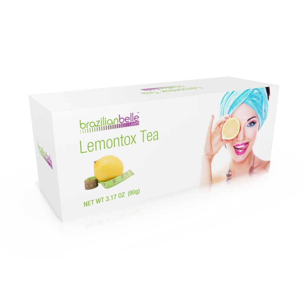 Brazilian Belle Herbal Fit Detox & Weight Loss Tea (Stimulant Free) - Appetite Suppressant & Promotes Healthier Skin- 100% Natural Ingredients - 15 Day Cleanse by Brazilian Belle