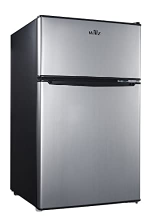 Attrayant Refrigerator Dual Door True Freezer, Stainless Steel