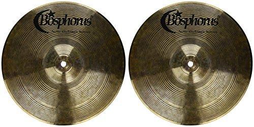 Bosphorus Cymbals N12H 12-Inch New Orleans Series Hi-Hat Cymbals Pair [並行輸入品] B07FDRZYM1