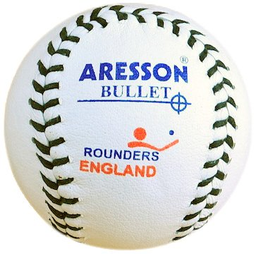 Aresson Hard Practice Bullet Rounders Ball White 19.5cm