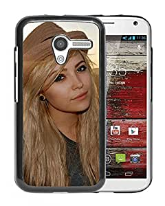 Beautiful Girl Cover Case For Motorola Moto X With Abigail Halliday Girl Mobile Wallpaper Phone Case
