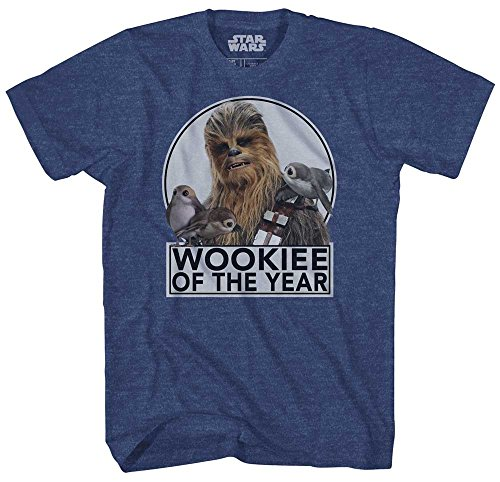 Chewbacca Wookiee of the Year Chewie T for Adults
