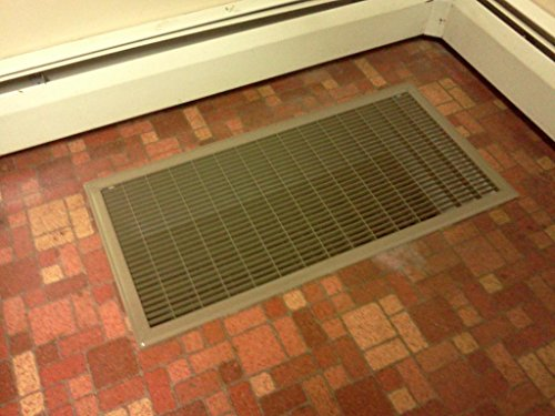 Very cheap price on the return air vent grille 8 x 14 for 12x6 floor register