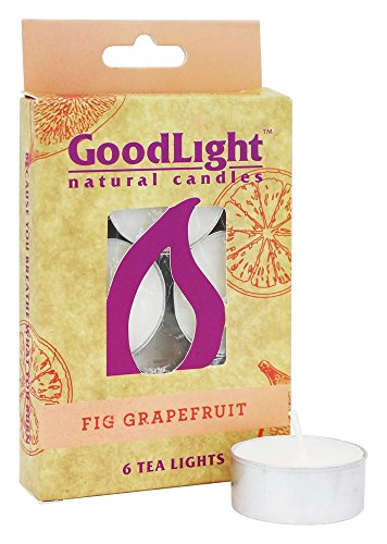GoodLight Paraffin free Naturally Scented Grapefruit