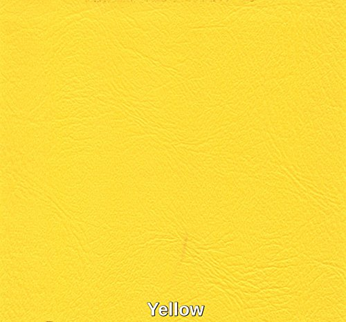 Marine Vinyl Waterproof Yellow 54 Inch Fabric By the Yard Sold (Luvfabrics) ()