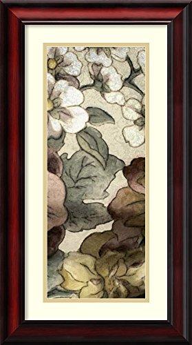 Earthtone Floral Panel - Framed Art Print 'Earthtone Floral Panel III' by Catherine Kohnke