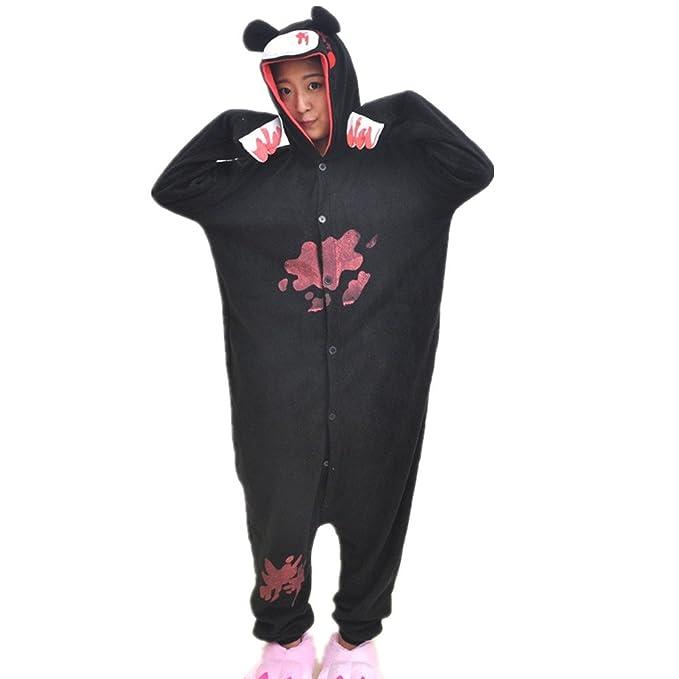 BOMOVO Animal Carnaval Disfraz Cosplay Pijamas Adultos Unisex Ropa De Noche - oso violento