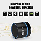 Wireless Bluetooth Speaker - Forcovr Mini LED Best Multi-Function Portable Outdoor Stereo Bluetooth Speakers with Bass,HD Surround,Built-in Microphone,FM Radio,Handsfree Call