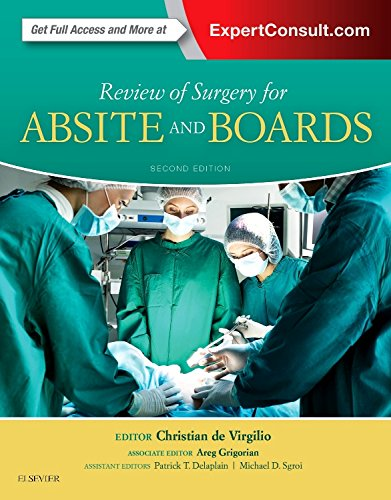 Review of Surgery for ABSITE and Boards, 2e (General Board Surgery)