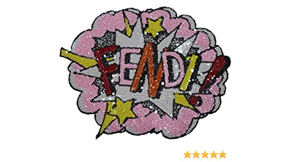 Amazon sequin patch pink fendi arts crafts sewing solutioingenieria Gallery