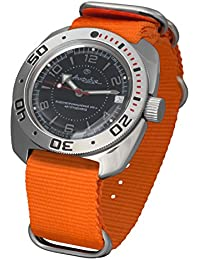 Amazon.com: Orange - 40mm to 44mm / Wrist Watches / Watches: Clothing, Shoes & Jewelry