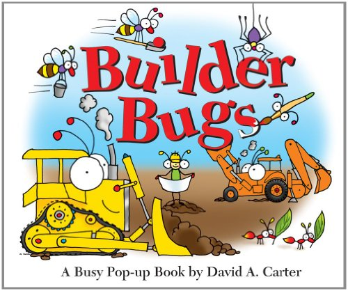 Builder Bugs: A Busy Pop-up Book (David Carter's Bugs)
