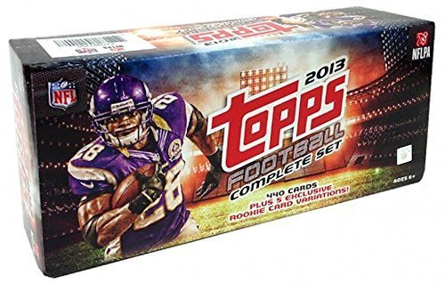 bd85dff14 2013 Topps NFL Football Factory Sealed Retail Version Set Which includes a  Pack of 5 Bonus