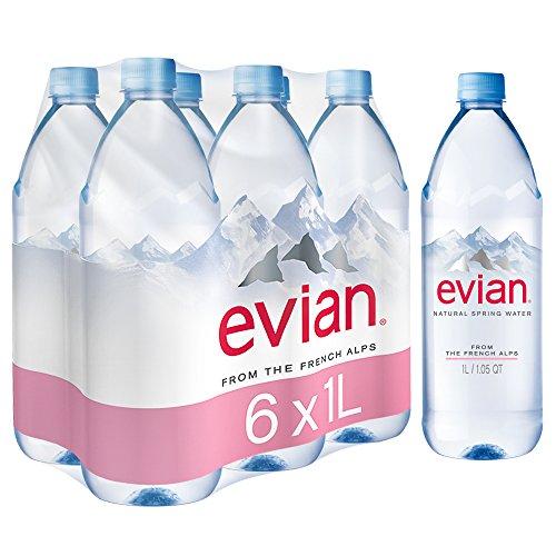 Evian Water 1 Liter 6 Count Buy Online In Uae
