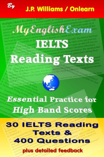 Download IELTS Reading Texts: Essential Practice for High Band Scores Pdf