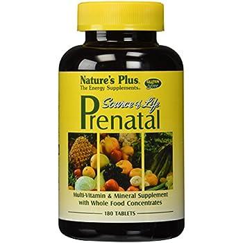 Nature S Way Prenatal Vitamins Ingredients