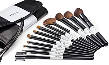 Karity Cosmetics Professional 12-Pc. Makeup Brush Set with Pouch