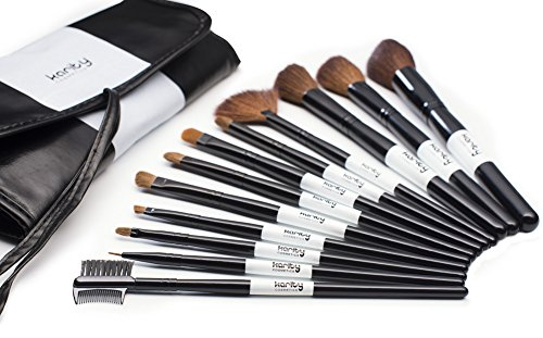 Professional Studio Quality 12 Piece Natural Cosmetic Makeup
