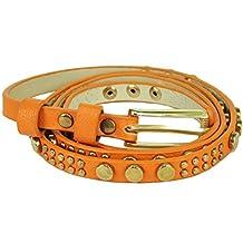 Mad Style One Size Adjustable Thin Lexa Studded Leather Belt