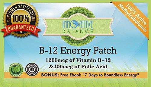 La vitamine B-12 Energy Patch