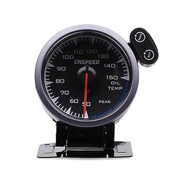 UHAoo - Medidor de Temperatura de Aceite Universal para ...