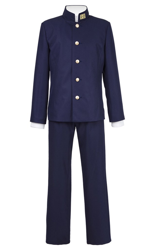 Very Last Shop Men's Japanese High School Students Uniform Costume Sakamoto Costume (US Men-M, Blue) by Very Last Shop