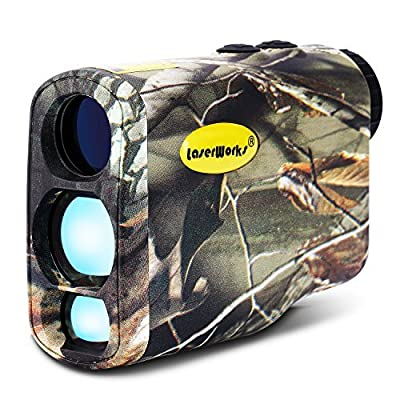 LaserWorks LW1000PRO Professional-Class Laser Rangefinder for Hunting and Golf,Fog measurement,Waterproof Rangefinder