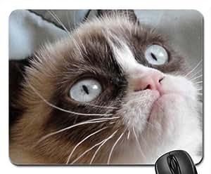 Grumpy Cat Mouse Pad, Mousepad (Cats Mouse Pad)