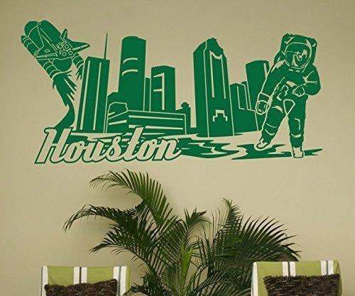 Tatuaje de Pared Skyline XXL Houston Pared Pared USA Pegatina ...