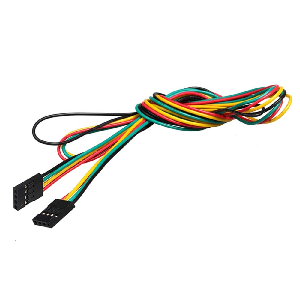 Size: Male to Male 3D Printer Jumper Wires 5pcs//lot 70cm 4pin M-M Male to Female F-F 2.54mm Dupont Cable Line Breadboard Wires for 3D Printer Parts