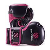Essential Boxing Gloves Pink 12-oz