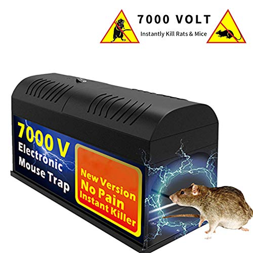 - Big-Fun Electronic Defense Box, High Voltage Effective Powerful Poison Free Humane Electric (1 Pack)