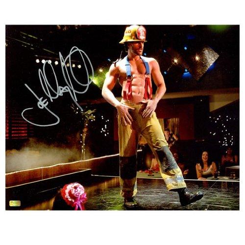 Joe Manganiello Autographed 8x10 Magic Mike Scene Photo