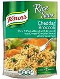 Knorr Rice Sides, Cheddar Broccoli 5.7 oz, Pack of 12