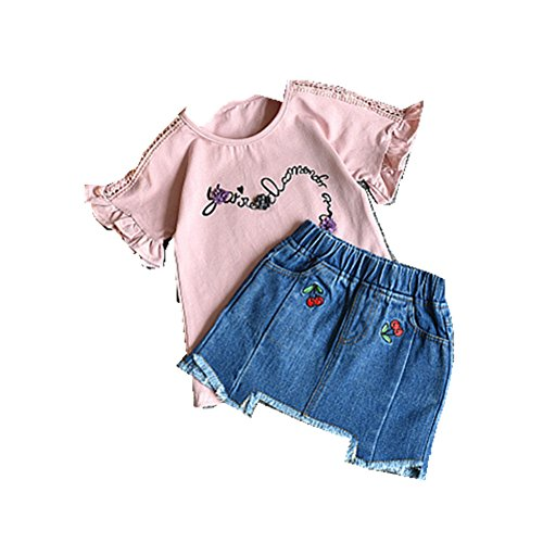 ftsucq-girls-floral-letter-shirt-top-with-denim-skirttwo-pieces-setspink-110