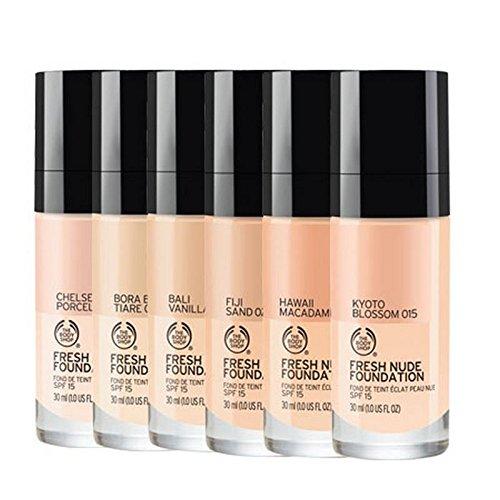 The Body Shop Fresh Nude Foundation 045 Atlas Dunes - - Nude Shop