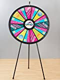 Games People Play 63038 15 to 30 Slot Floor Stand Big Adaptable Prize Wheel Game 40 in. Diameter