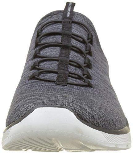Fitness Emrick de Noir 3 Grey Chaussures Black Homme Bkgy Equalizer Skechers 0 OnXYxS