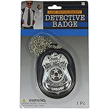 Deluxe Detective Badge On Chain