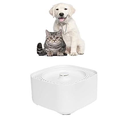 Liyanan Fuente de Agua para Mascotas, Fuentes de Agua automáticas eléctricas, Perros, Gatos